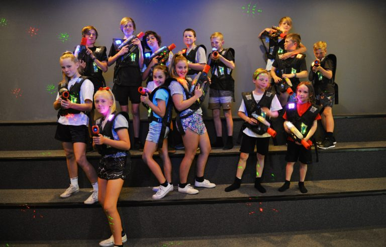Laser Tag Birthday Parties