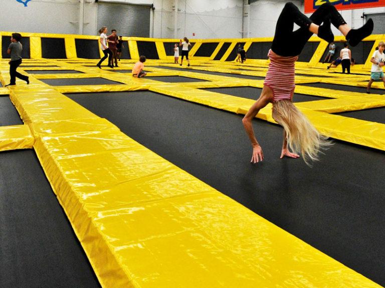 Free Trampoline Jumping