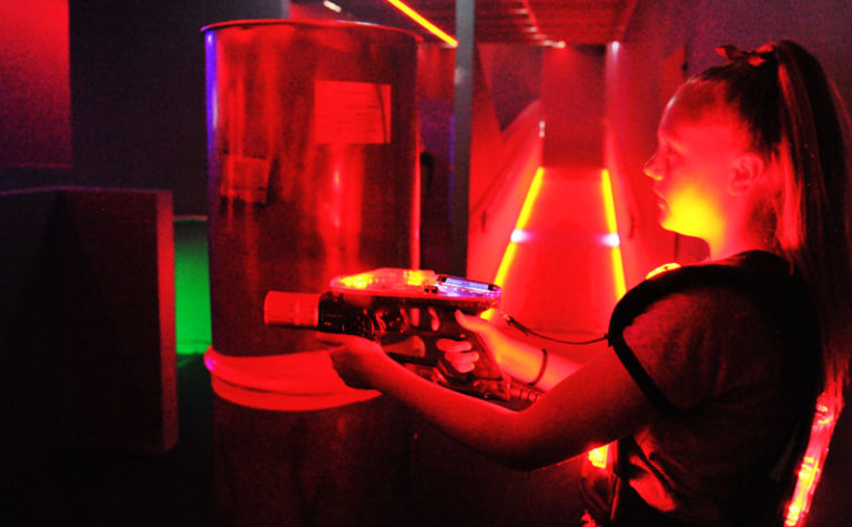 Laser Tag at Gravity Zone