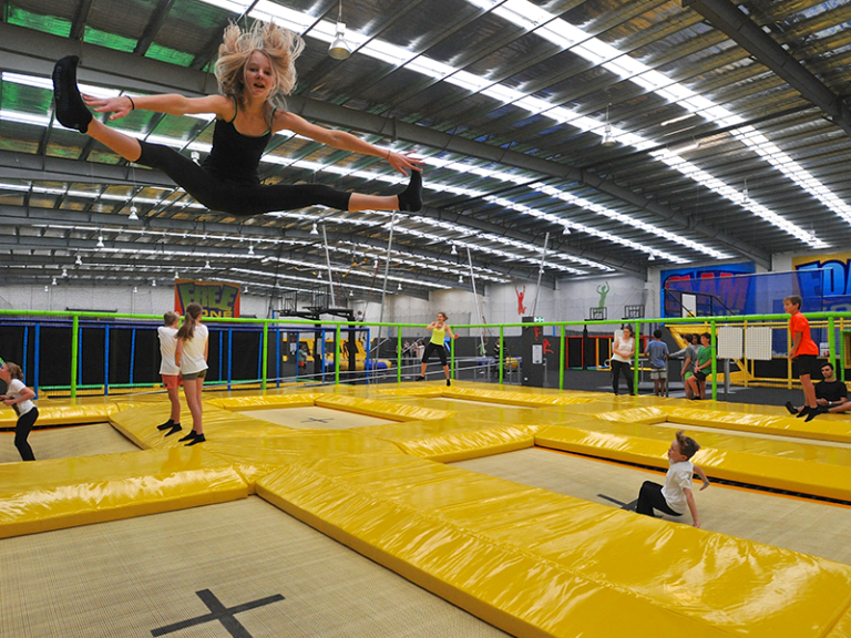 Olympic Grade Trampolines