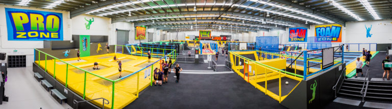 Largest Trampoline and Laser Tag in Australia