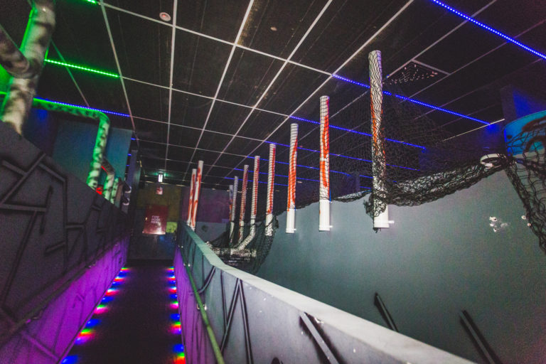 Multi-Level Laser Tag Arena