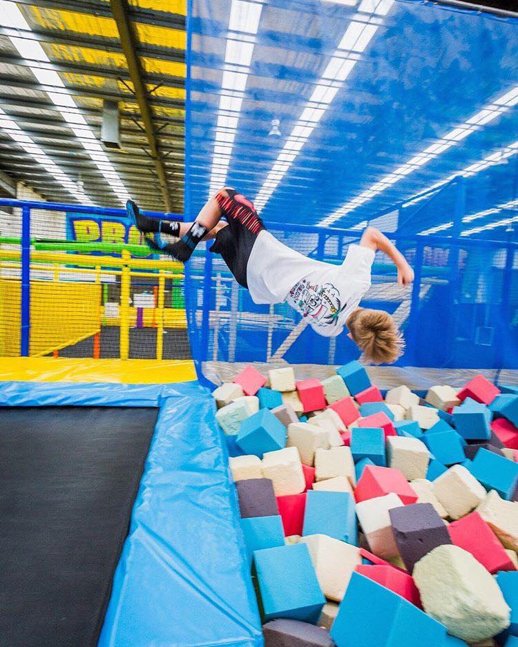 Fearless in the Foam Pit