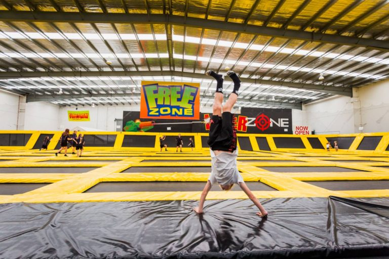 Largest Trampoline Centre in Australia